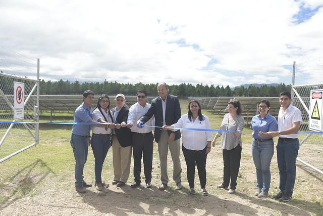 Inauguración Parque Solar Zamorano