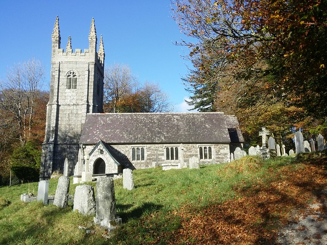Church at Sampford Spiney