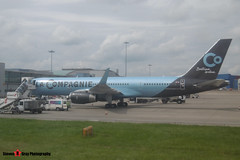 F-HCIE - 27208 - La Compagnie - Boeing 757-204 - Luton - 160611 - Steven Gray - P1000039