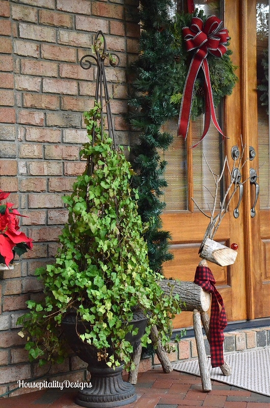 Rudy the Reindeer - Christmas Porch - Magazine Feature - Housepitality Designs