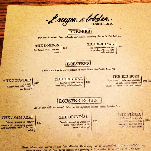 Burger and Lobster NYC (2)