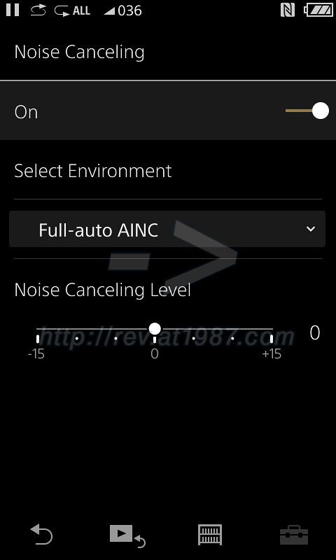 Sony Walkman A30 - Noise Canceling