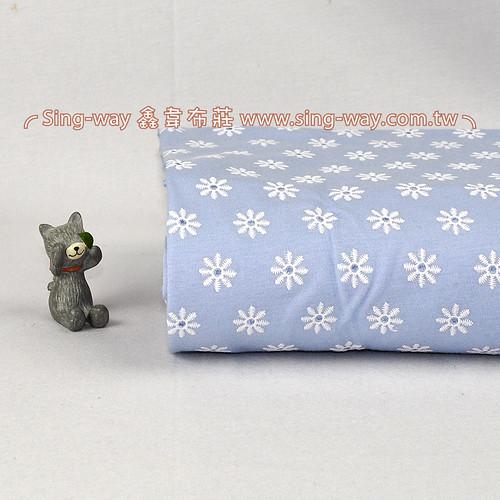 小花花 蕾絲小花 針織彈性布料 LB1290016