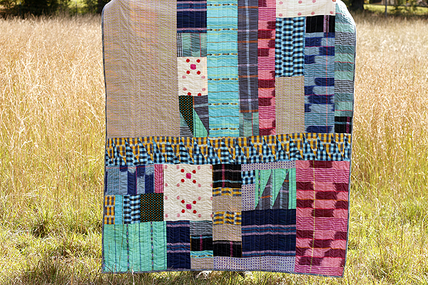 Never Easy patchwork quilt