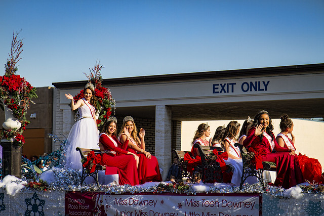 Downey Christmas Parade 2016 Downey Court