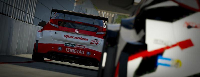 VTCC Spec Series 10 - #5 Zengo Motorsports Honda Civic WTCC 30446652853_111c00a297_c