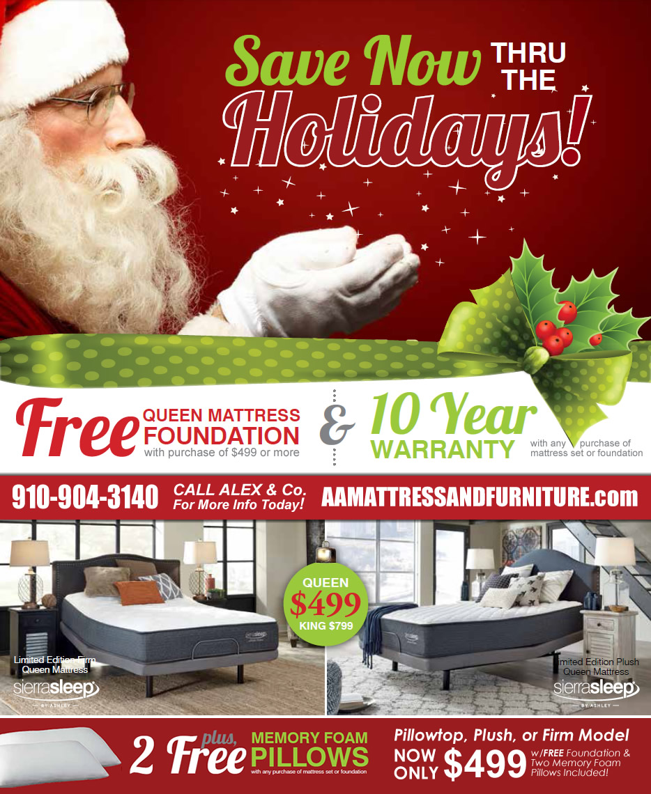 Holiday Special Sierra Sleep wInfo