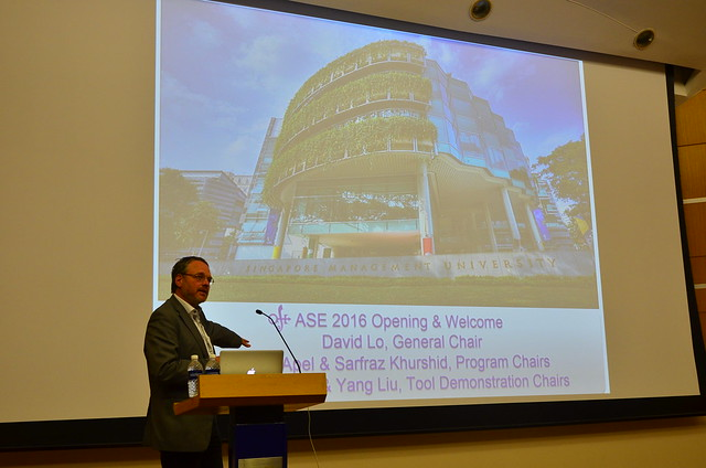 ASE 2016 Main Conference