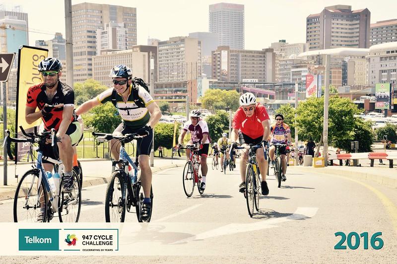 94.7 Telkom Cycle Challenge - helping Curtis