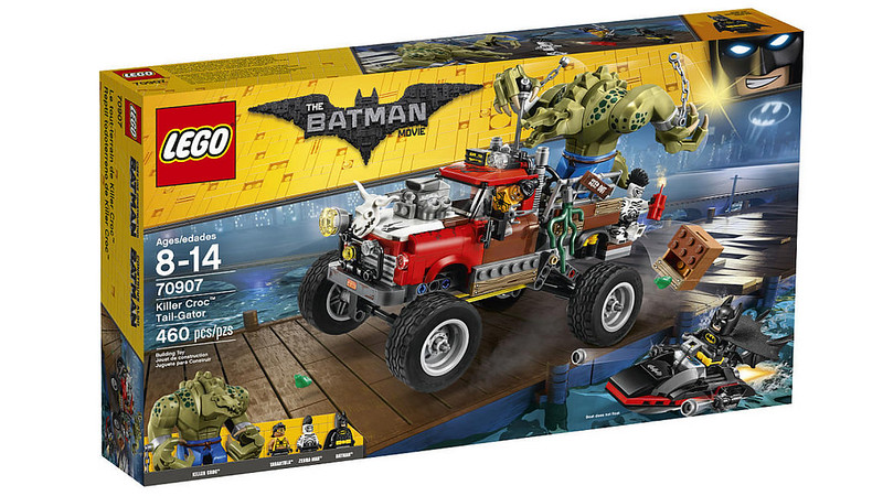 LEGO Batman Movie - Killer Croc Tail-Gator (70907)
