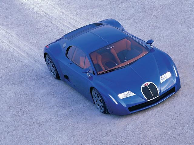 Прототип Bugatti EB 18/3 Chiron