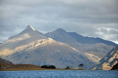 Sgurr na Ciche from Loch Nevis