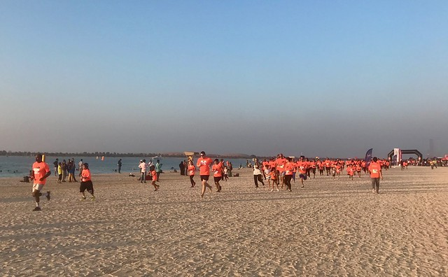 Beach Run Abu Dhabi 2016