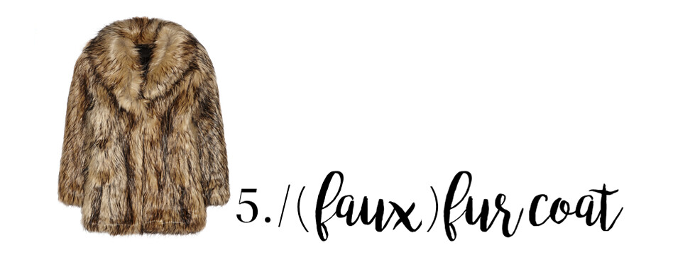 5 product faux fur coat