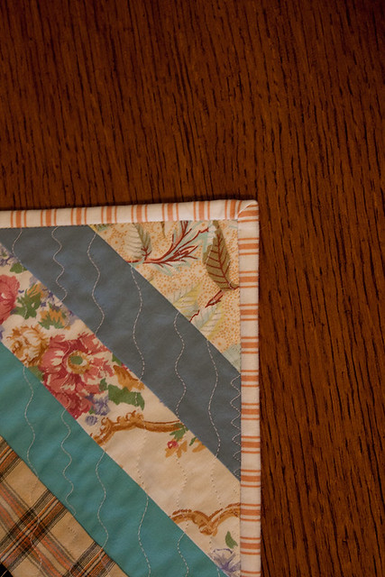 String-Quilt Table Runner