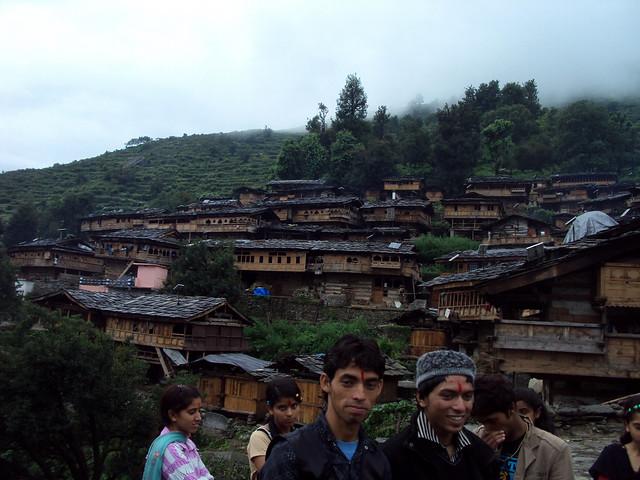 उत्तराखण्ड का एक पहाड़ी गाँव