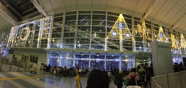 福岡空港的星座燈
