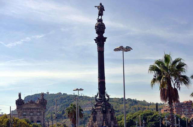 Qué hacer y ver en Barcelona - Mirador de Colón