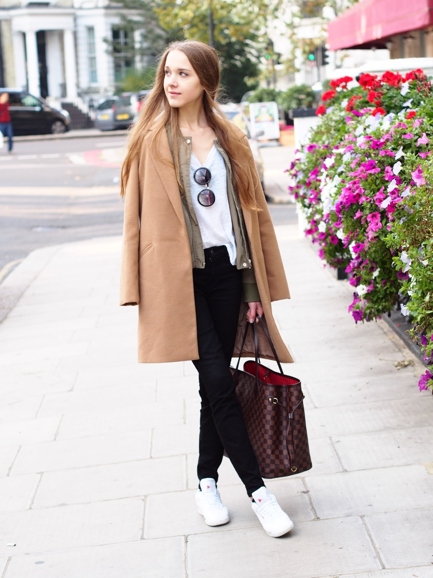 Layering with two jackets