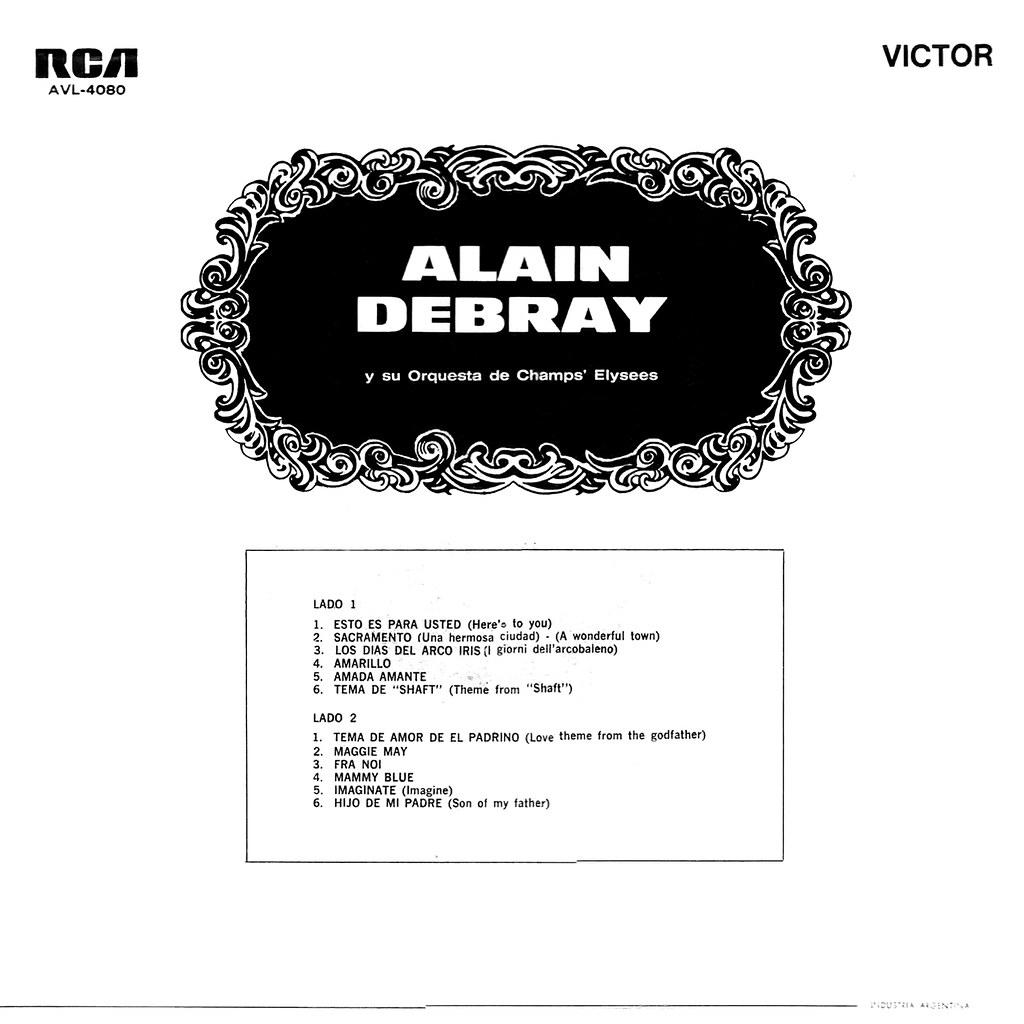 Alain Debray y su Orquesta de Champs Elysees