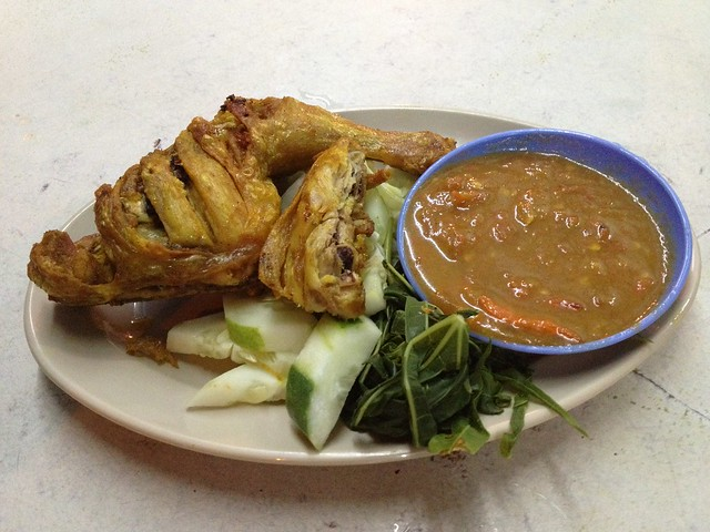 nasi ayam penyet halal sibu