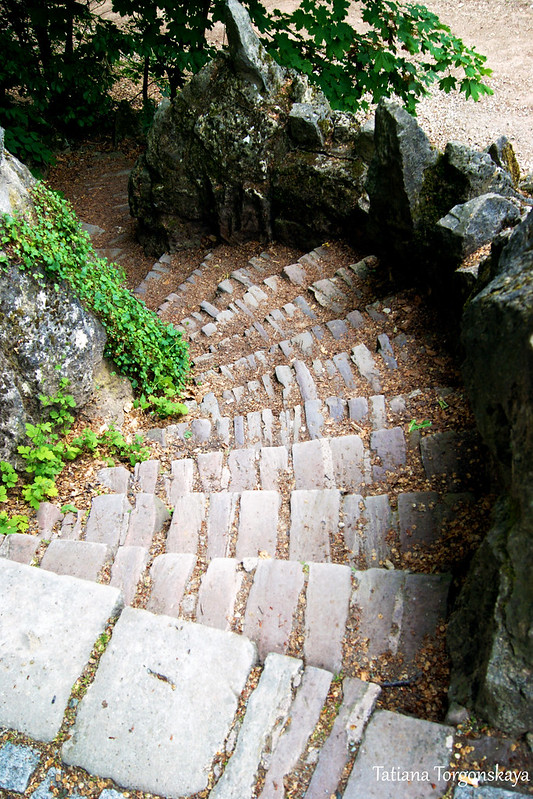 Лестница к воротам