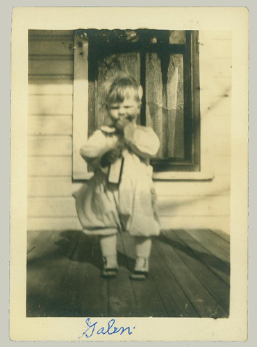 Child on Porch