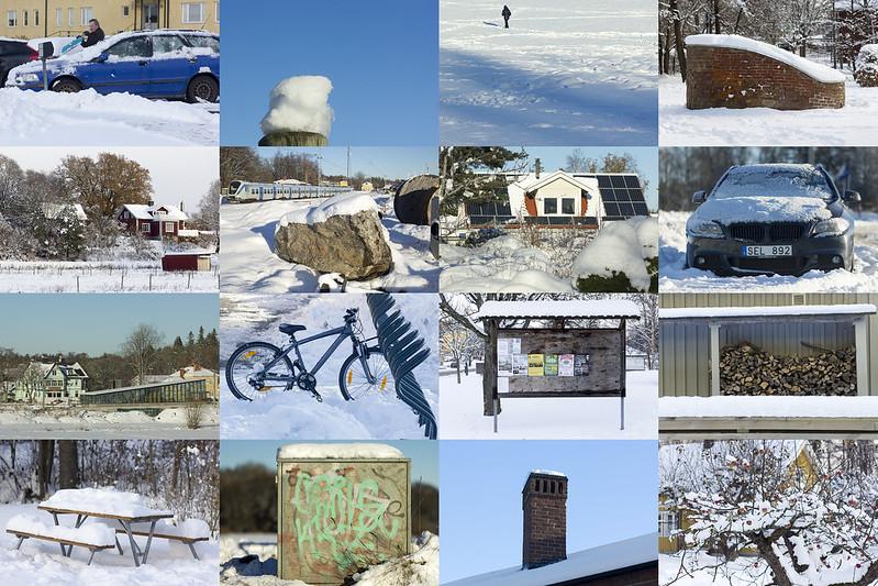 16 Winter Scenes