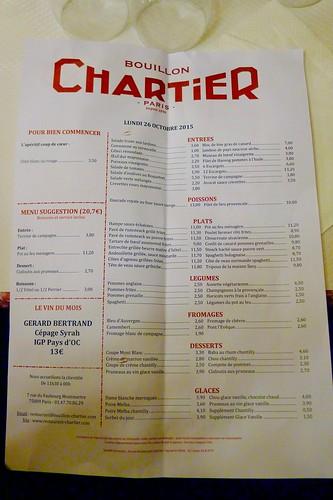 Paris Restaurant Prices