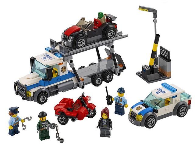 LEGO City 60143 - Auto Transport Heist