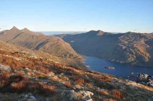 Loch Nevis from Mam Uchd, Bheinn Bhuidhe