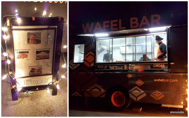 Wafel bar food truck