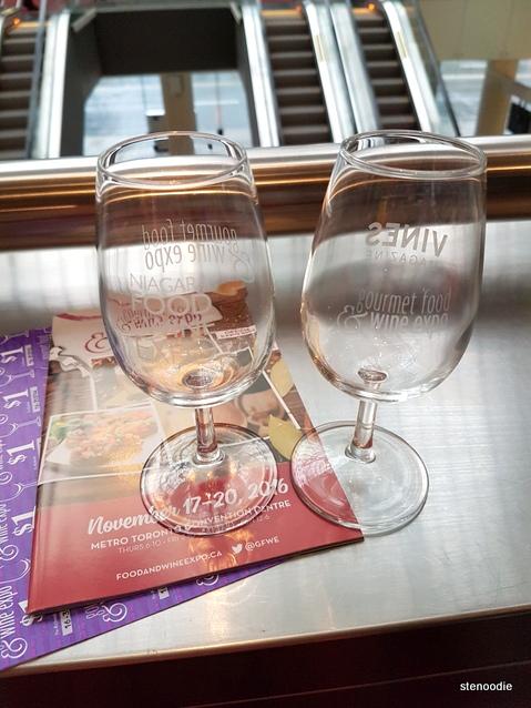 Gourmet Food & Wine Expo 2016 wine glasses