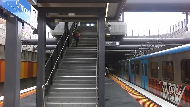 Ormond station: North side entrance