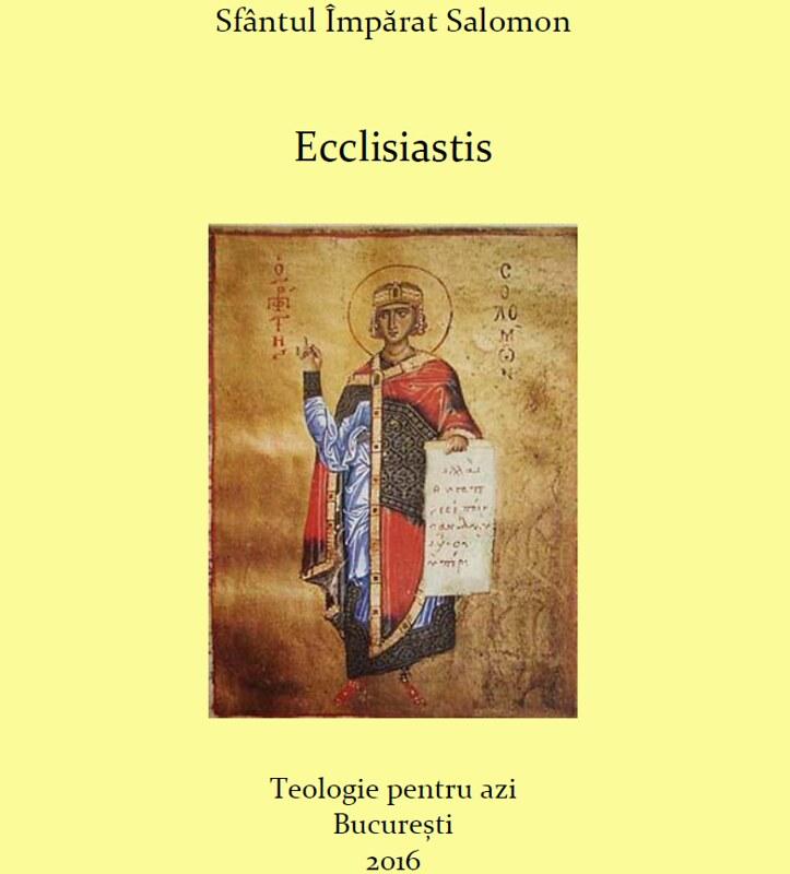 Ecclisiastis