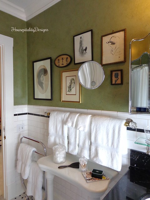 Vintage Bathroom - Housepitality Designs
