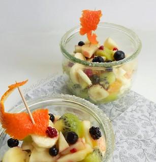 Salade de fruits sans gluten