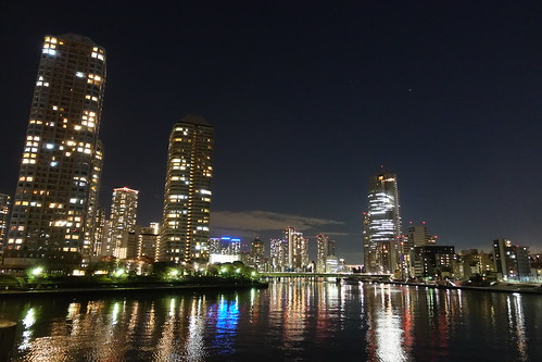 Sumida river night