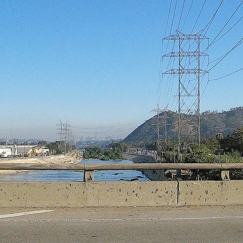 L.A. Hell #6: The Banks of the Mighty Los Angeles River | by Gamma Infinity