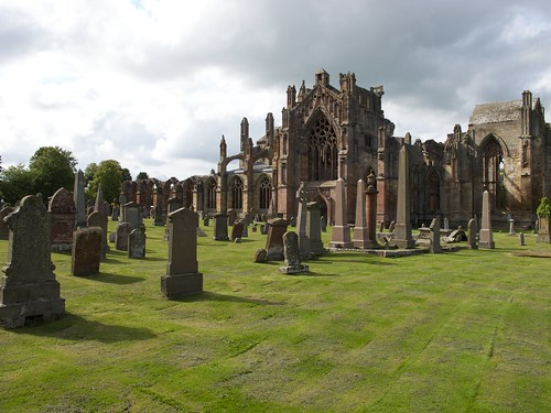 Melrose Abbey, Cemetery | by Andreas Jungherr