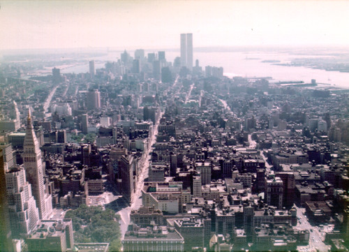 View South from the Empire State Building, July 1976 | by artistmac