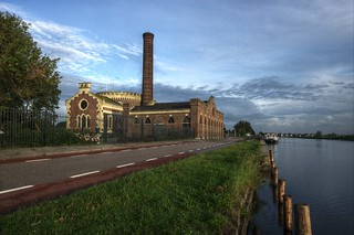 Gemaal (pumping station) Lijnden | by newmikey