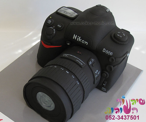 camera cake by cakes-mania close up עוגת מצלמה מאת שיגעון העוגות | by cakes-mania