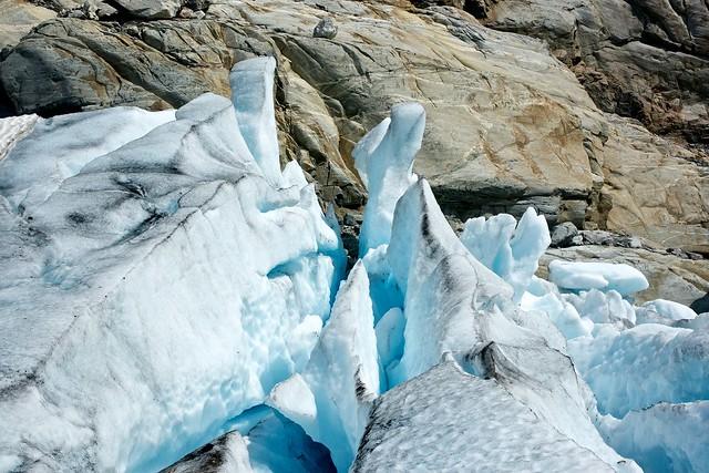 Glacier hiking- Jostedalsbreen