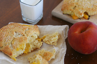 peaches cream scones 6 | by crumblycookie