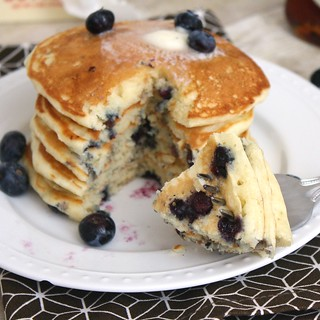 Blueberry Pancakes | by Tracey's Culinary Adventures