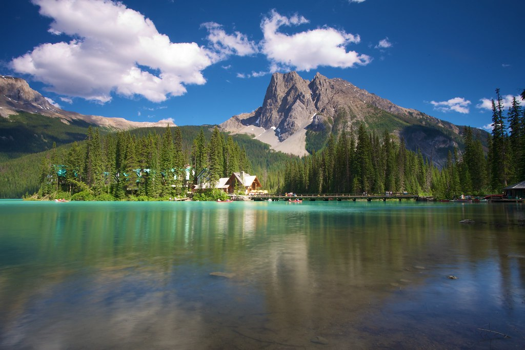 Emerald Lake, Yoho NP British Columbia Canada