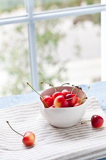 Rainier Cherries | by tartelette