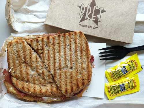 Toasted Ham and Cheese Sandwich | by Mr.TinDC