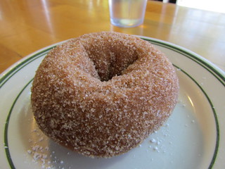Mighty-O Donuts: Cinnamon Sugar Donuts